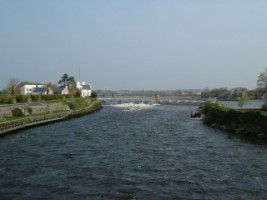 The River Corrib, Galway City
