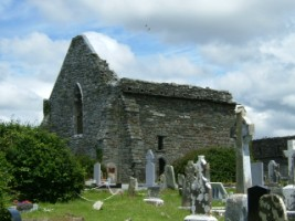A view of Lislaughtin Abbey, Ballylongford, Co. Kerry