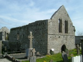 A view of the Franciscan Friary, Buttevant, Co. Clork